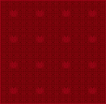 Chinese traditional lattice pattern created with vector data
