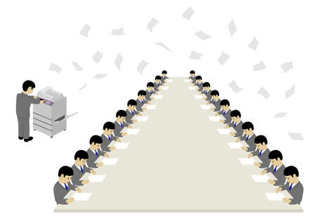 Waste of Paper (Created with Vector Data) Stock fotó - 137734497