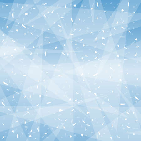 Winter background image (Created with vector data)
