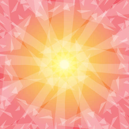 Summer background image (Created with vector data)