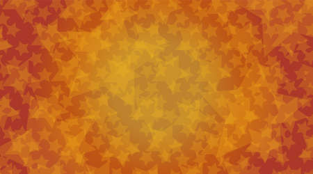 Image of autumn. Star. Halloween. Created with vector data.