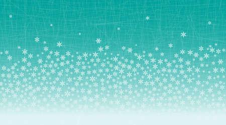 Background image. Randomly arranged snowflakes and straight lines overlap. Christmas image. Stok Fotoğraf