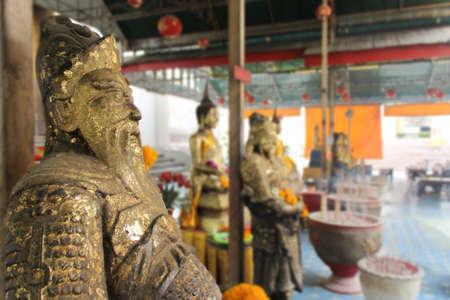 grand hard: god china stone ancient Stock Photo