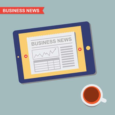 business news: Business News and Coffee