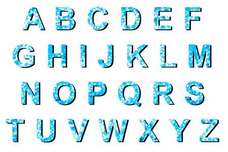 g p: Abstract blue bokeh ABCDEFGHIJKLMNOPQRSTUVWXYZ