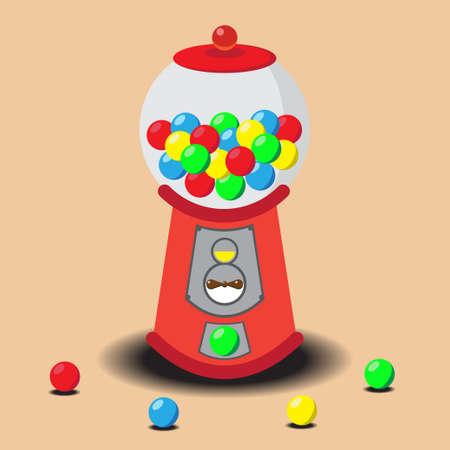 gumball: Gumball Machine, Vector