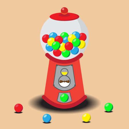 gumball: Gumball Machine, Vector