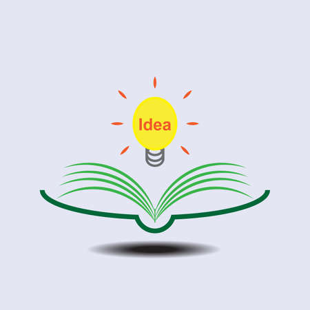 create idea: Reading a book which create idea