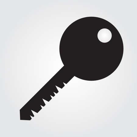 public folder: Key icon flat