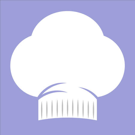 web cap: Chef cap icon for web and mobile Illustration