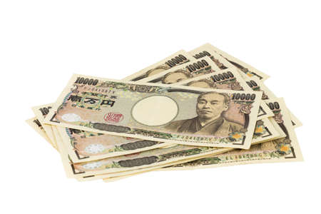 1000 Japanese yens bank note. Japanese yen is the national currency of Japan.