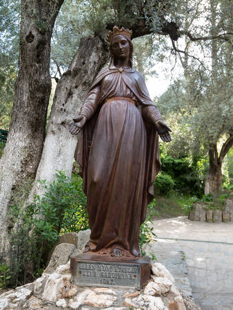 May 02 2019, Selchuk, Aydin, Turkey. Statue of Virgin Mary at the House of the Virgin Mary believed to be her last residence. Sajtókép