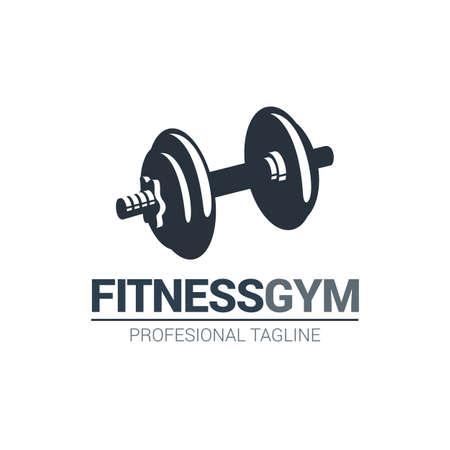 Fitness Gymnasium Logo