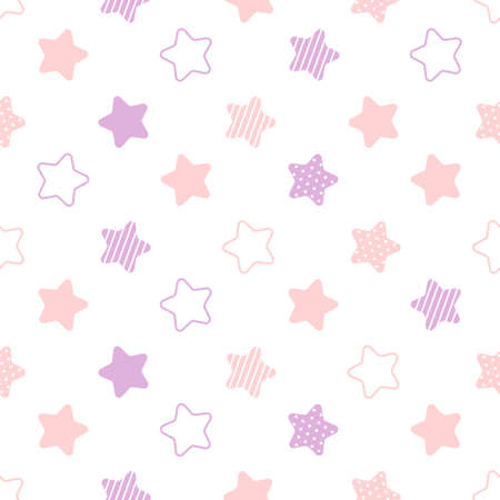 Stars seamless background repeating pattern, wallpaper background, cute seamless pattern background