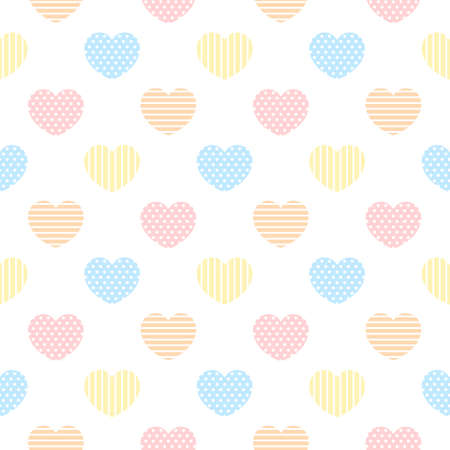 Abstract heart seamless background repeating pattern, wallpaper background, cute seamless pattern background