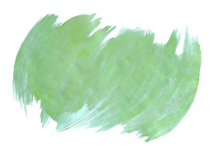 Isolated stain drawn by watercolor paints. Watercolor background for design cutted on a white backdrop.
