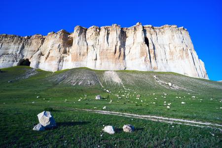 At foot of the White Rock AK-Kaya, Crimea