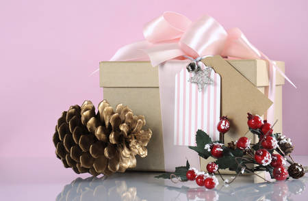Modern Trend Natural Gift Wrapping With Natural Brown Kraft Paper ...