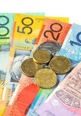 fin de ao: Concepto del dinero de Australia para el ahorro, gasto, o el 30 de junio de Fin de A�o venta Financiera.