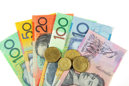 the end of time: Australian Money concept for savings, spending, or 30th June End of Financial Year sale.