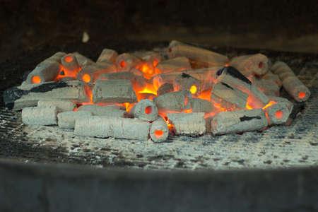 glut: Glut in einem Hot Dog Stand