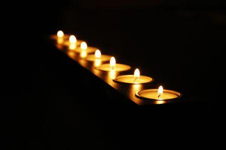 Candles Stock fotó