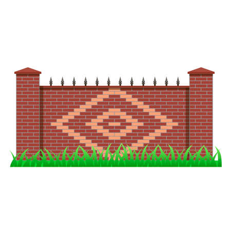 Brick fence element to use for manor.