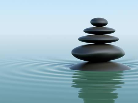 jerarquia: Piedras Zen
