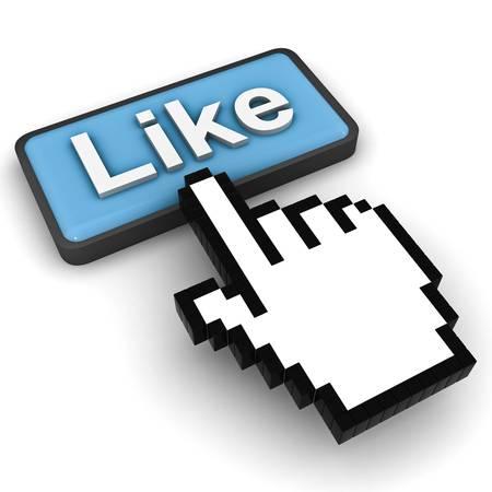 Like button Stock Photo - 12432445
