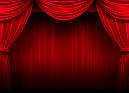 teatro: Red de cortina