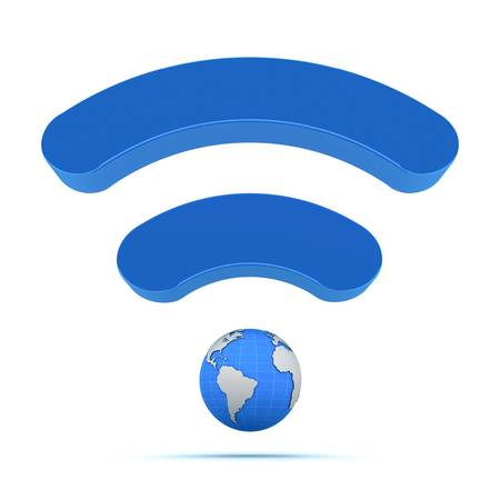 Wifi wireless global technology icon photo