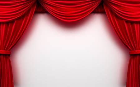 broadway show: Red sipario telaio