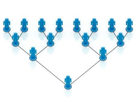 social gathering: Network Marketing Concept