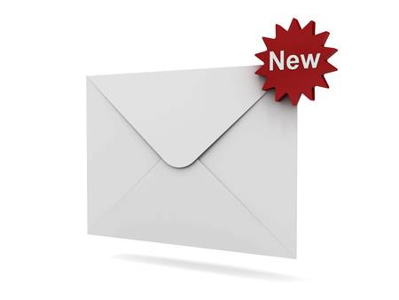 E mail notification new email message concept photo