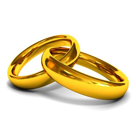 wedding card design: Wedding Rings