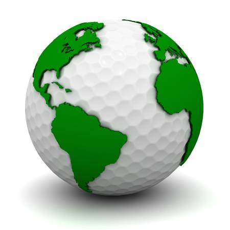 golf field: World golf