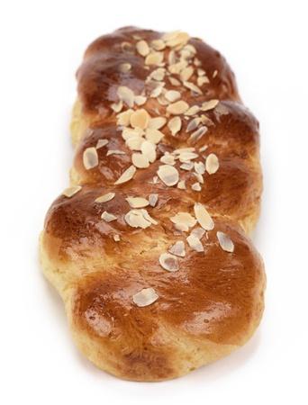 tsoureki, a greek recipe of a sweet bread made for easter celebration Stock Photo - 9212527