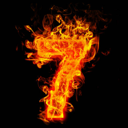 Fire number seven (7)