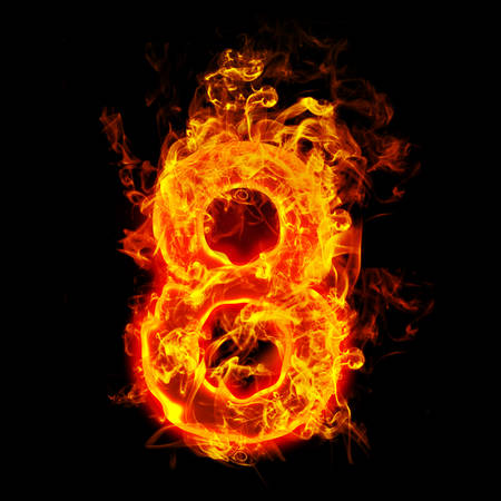 Fire number eight (8)