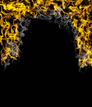 Fire flame texture background Stock fotó - 106917732