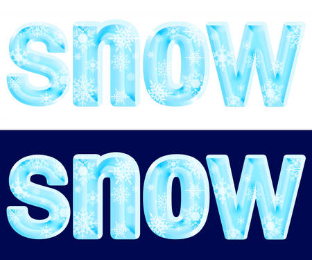 The word snow