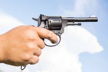 revolver: revolver Stock Photo