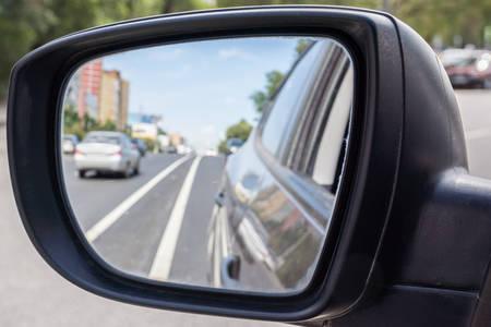 mirror: Rear mirror