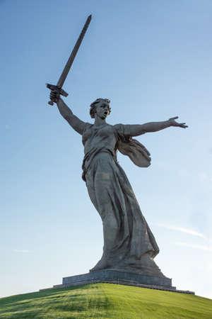 volgograd: Mamaev kurgan. Hero City Volgograd, Russian Federation.