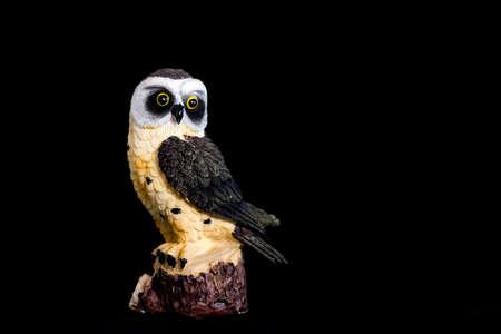 animal figurines: Owl figurine
