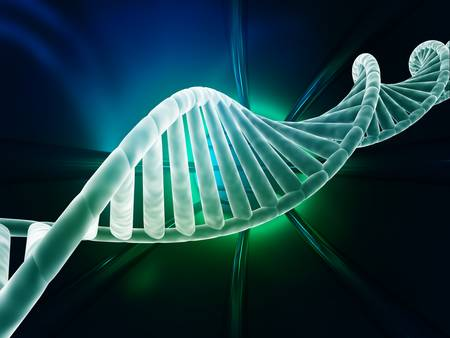 dna strand: DNA strand modern design Stock Photo