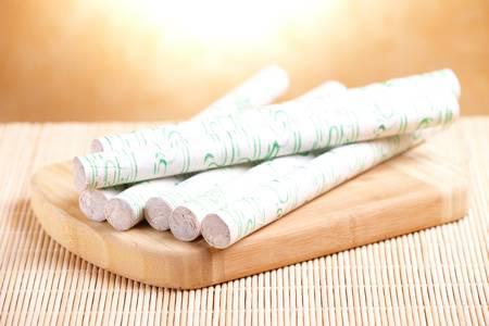 acupuntura china: Profesionales de moxa palos