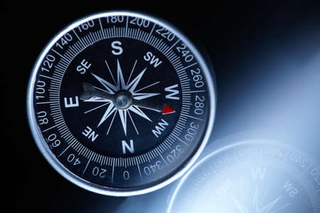 Compass composition for traveler Stock Photo - 12777113