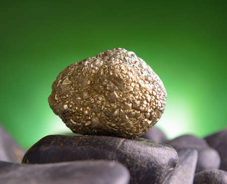 pyrite: Iron pyrite also known as a fool