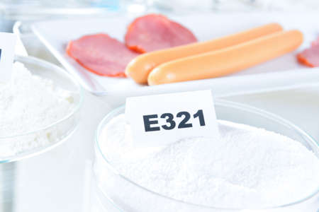 stabilizers: e321 Butylated hydroxytoluene. Preservatives substances that are added to products such as foods, pharmaceuticals to prevent decomposition by microbial growth or by undesirable chemical changes.